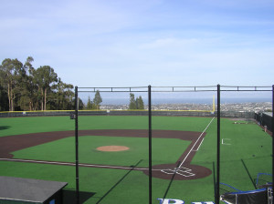 Spectacular View from CSM Baseball Field